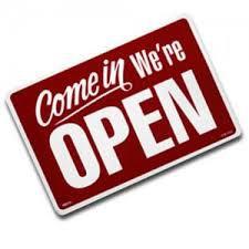 Office Open This Week (La oficina estará abierta esta semana)