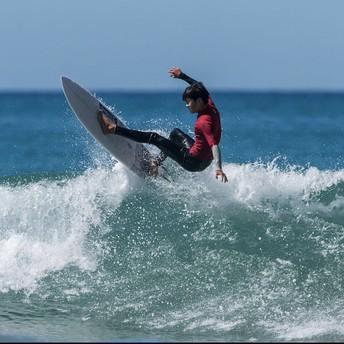 Riku Gordon Surfing Champ