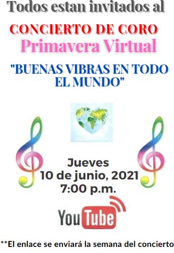 Concierto de Coro de Primavera Virtual