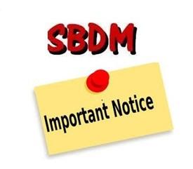 Reminder! SBDM Meeting  - ¡Recordatorio! Reunión de SBDM