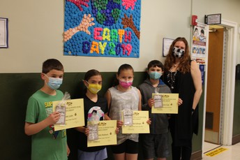5th Grade Science Fair Participants