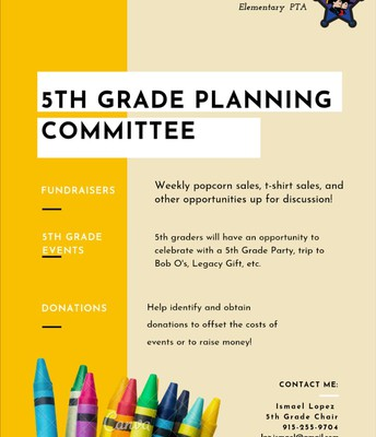 5th Grade Committee!