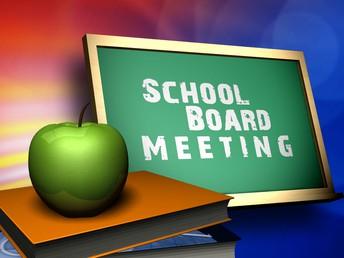 Upcoming Deer Creek School Board Meetings