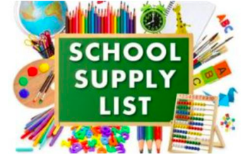 Grade Level Supply Lists