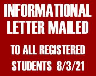 Informational Letter Mailed 8/3/21