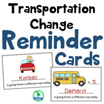 Change in Transportation