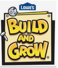 Lowes DIY Kid's Workshops