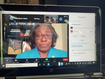 Columbia, South Carolina - Mrs. Ida Thompson, Chair of CSK - Virginia Hamilton Lifetime Achievement Award Committee