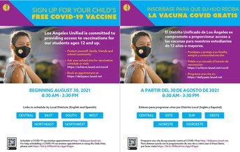 Get your Vaccine @ STEM!