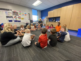 First Grade Circle Time
