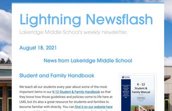 Last Week's Newsflash Information