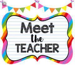 Meet the Teacher Event!!!