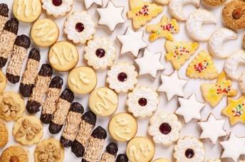 12 Dozen Homemade Holiday Cookies