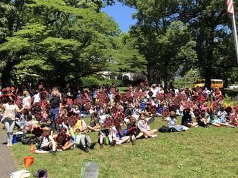 Jefferson Elementary School 5th Grade Clap Out