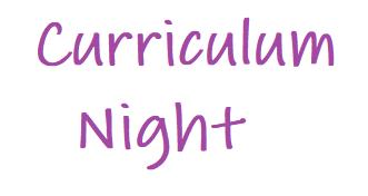 Curriculum Night Videos