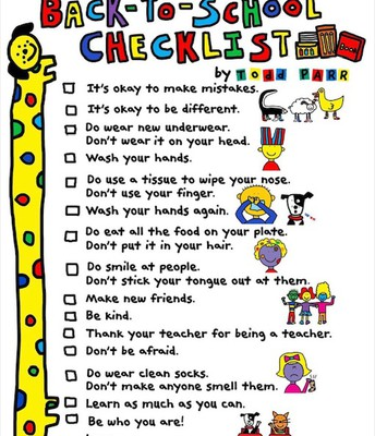 Advice from Todd Parr