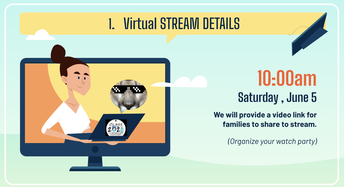 """Virtual Promotion Ceremony """"Watch Party"""""""