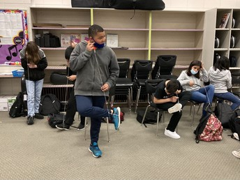 Band Ends the Year with Some Fun and Creative Lessons