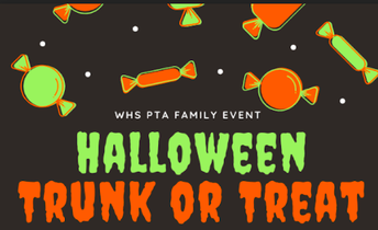 TRUNK OR TREAT:  Friday, October 29th 5pm - 7pm