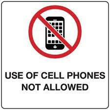 No Cell Phone Zone