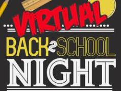 Virtual Back to School Night Sept. 16