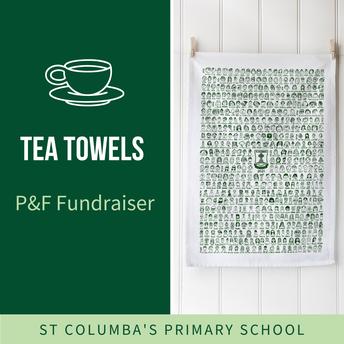 P&F Tea Towel Frundraiser