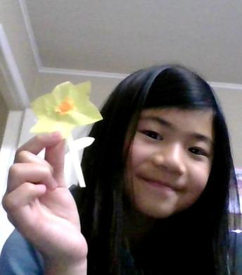 Daffodil's in Room 9