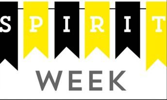 Spirit Week Themes September 27- October 1