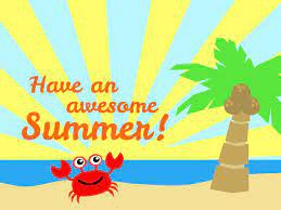 Last Day of School/Half Day, Tuesday, June 22nd.  Dismissal at 11:30am!