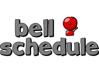Sunkist Bell Schedule