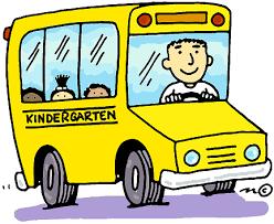 KINDERGARTEN BUS RIDERS - IMPORTANT INFO!!!