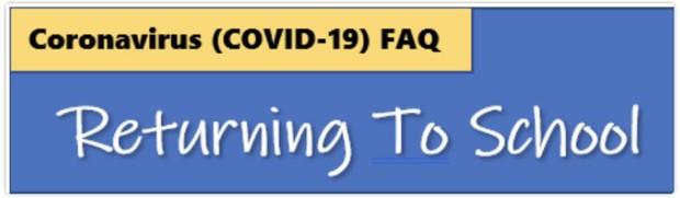 Click here for COVID-19 FAQ's