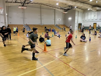 Bulldogs Building Stamina and Endurance in PE