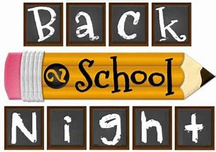 NEW DATE FOR PRIMARY BACK TO SCHOOL NIGHT