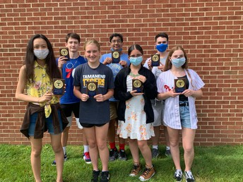 Congratulations, 7th Grade Team Award Winners!