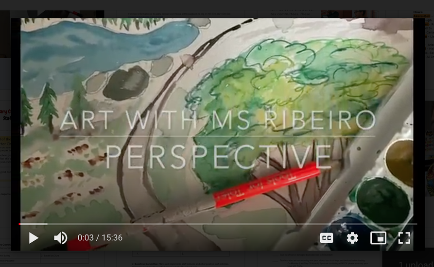 Art with Ms. Ribeiro: Perspective