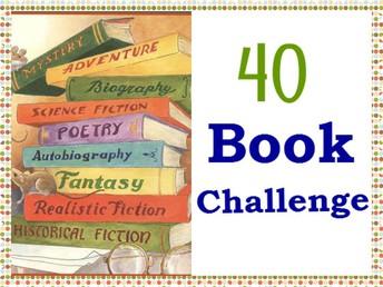 40 Book Challenge and Beyond!!