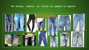 Tulsa MET Dress Guidelines