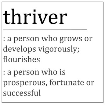 """Thriver"" Trait: Self-Confidence"