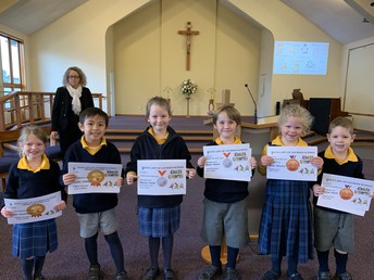 Cross Country Year 2 place winners