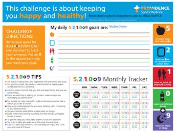 52109 Health Challenge