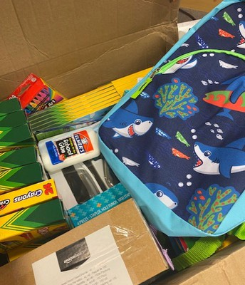 Sommers Chiropractic donated school supplies and backpacks!