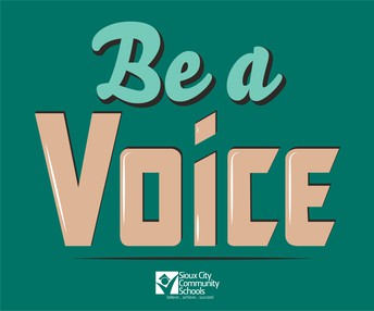 Your Voice Is Needed
