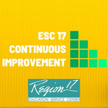 ESC 17 School Improvement Team
