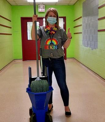 Ms. Hardy has a new job!
