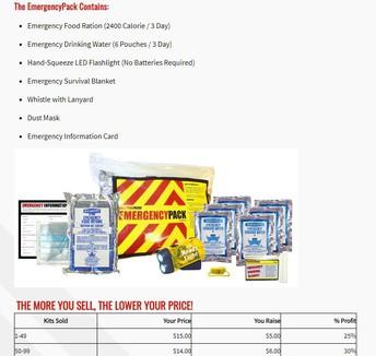 Emergency Kits/ Kit de Emergencia