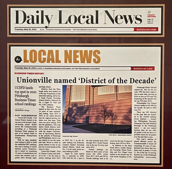 UCFSD Named District of the Decade