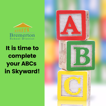 Teachers! Please remind your families to complete their ABCs!
