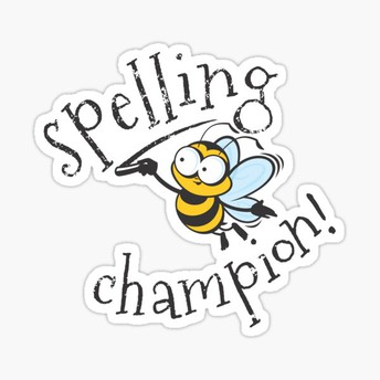 Congratulations, Spelling Bee Winners!