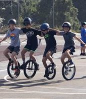 Silver Gate Unicycle Club for 3rd and 4th graders